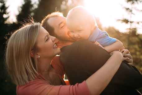 Alyssa Shirek of Fundamentals Therapy and her family in Farg, ND