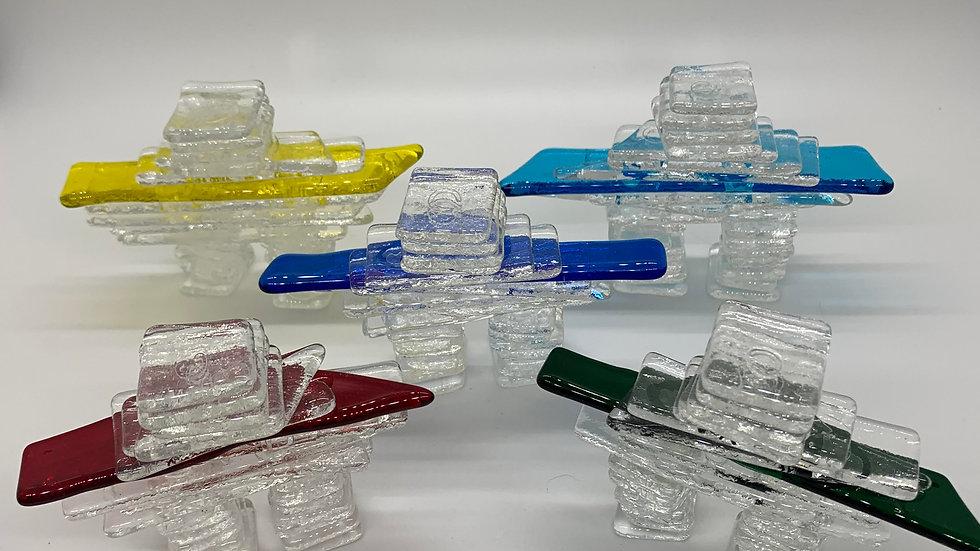 Glass Inukshuk