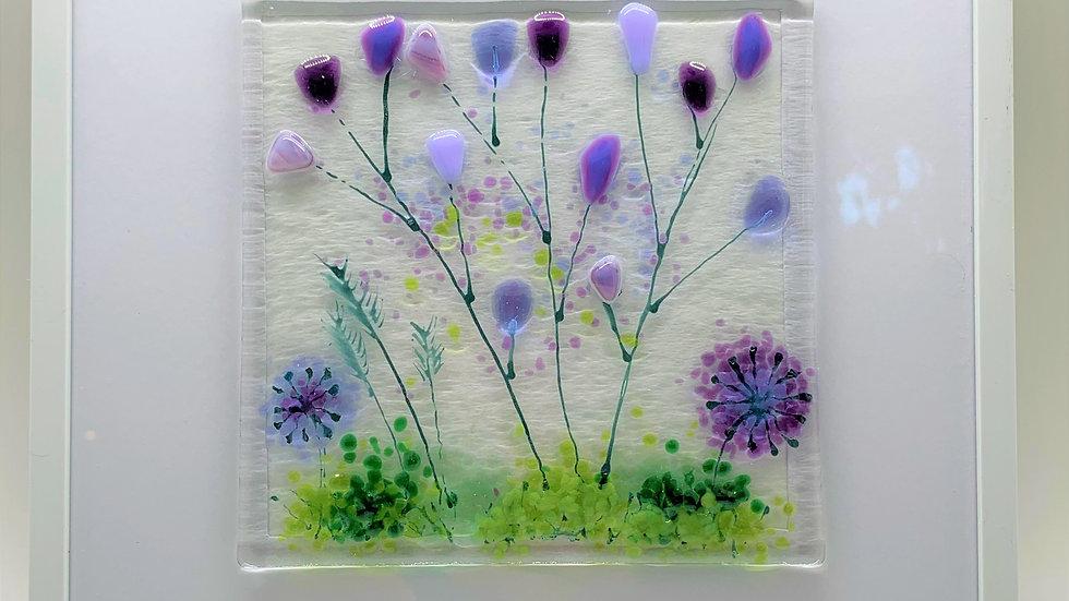 Glass Floral Frames