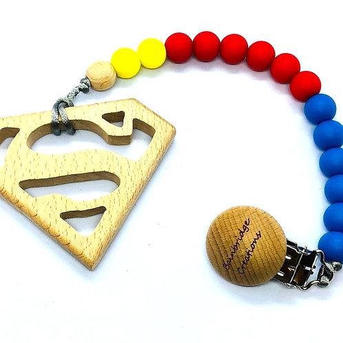 Super-héros et super-héroïne
