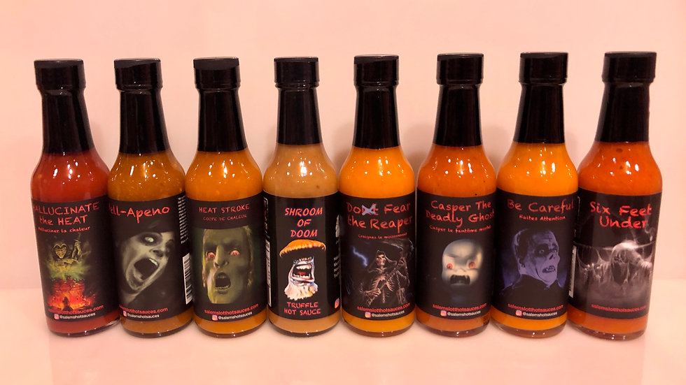 Salem's Lott Scary Hot Sauce- 8 pack