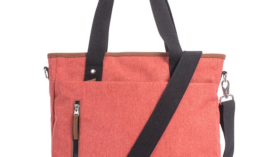 Mouflon- Wander Tote bag with top zipper closure