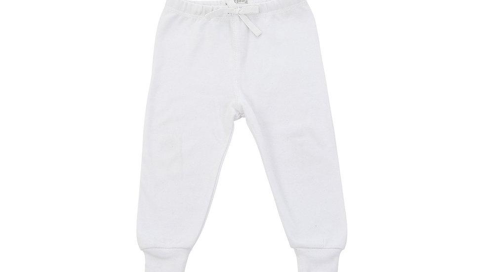 Cozy Pants in White