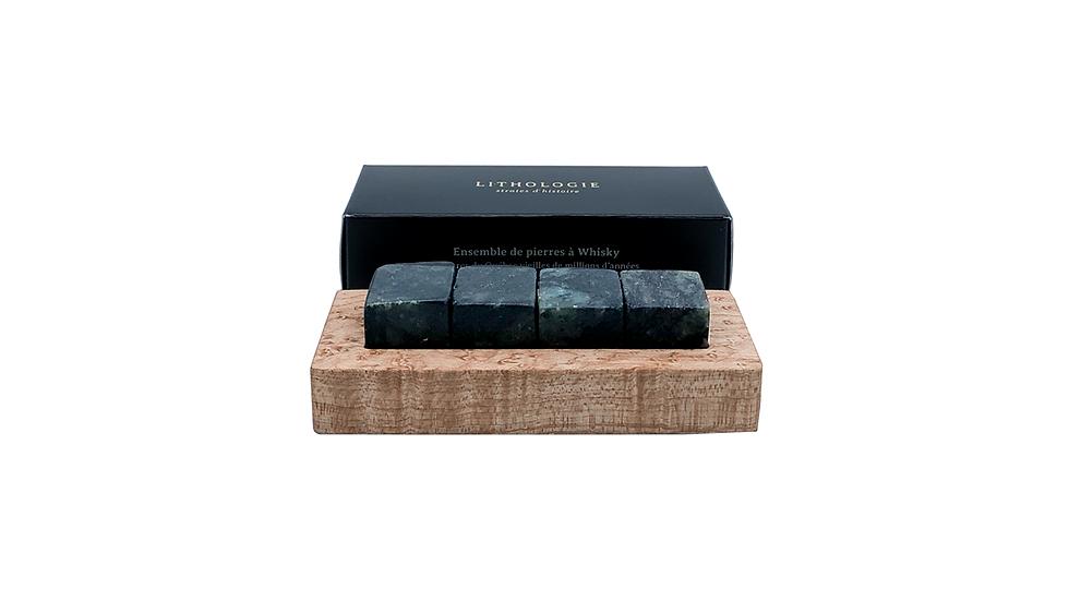 Whisky Stones- Hornblended Gneiss- 4 stones