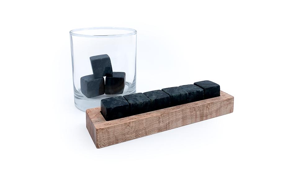 Whisky Stones- Hornblended Gneiss- 6 stones