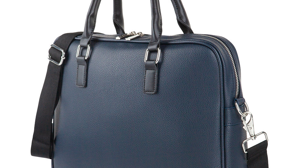 """Contrast- Briefcase with padded laptop section- fits most 14"""""""