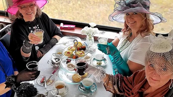 High Tea on the Rails