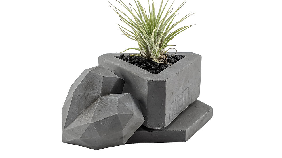 Triangle Concrete Succulent Planter