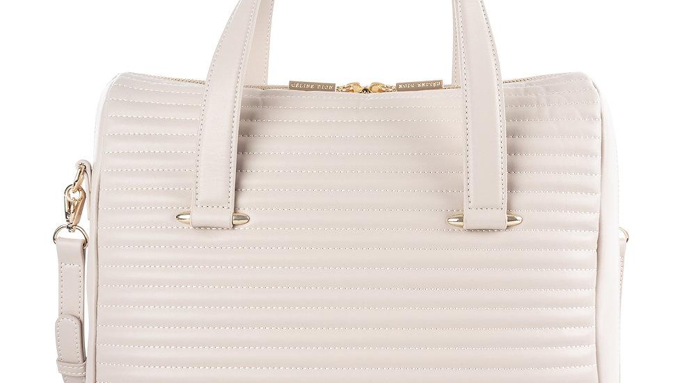 Vibrato- Leather satchel with adjustable & removable shoulder straps
