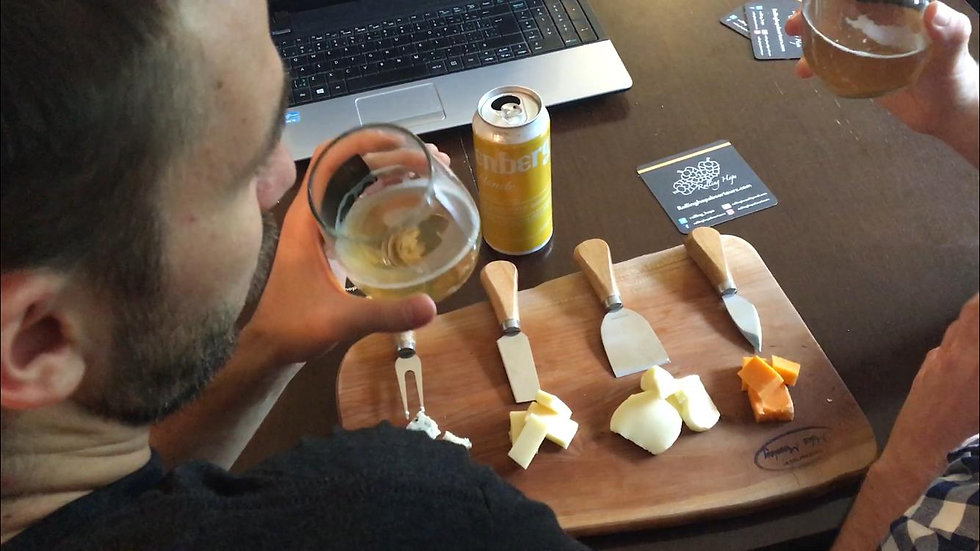 Virtual Craft beer & Cheese tour- Greater Toronto Only- 4 or more