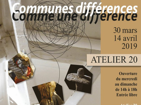"""Un texte de l'essayiste Gérard Astor pour l'exposition """"Communes différences, comme une différence"""""""