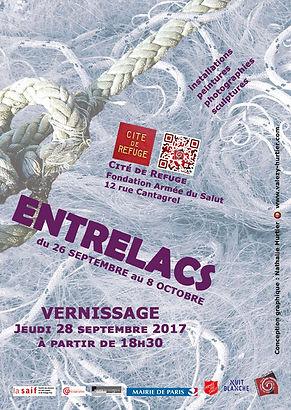 Nuit Blanche 2017 (Participation Nathalie hurtier, sculpteur papier et Olivier Valézy, sculpteur pop-up carton) © HURTIER