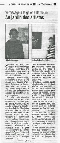LA TRIBUNE, mai 2007