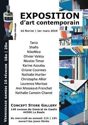 Exposition La Baule 2019 - Hurtier - Valézy
