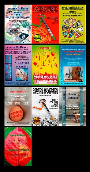 Nathalie Hurtier, sculpteur papier et Olivier Valézy, sculpteur pop-up carton - Expositions Dans les murs, saisons 2013-2011