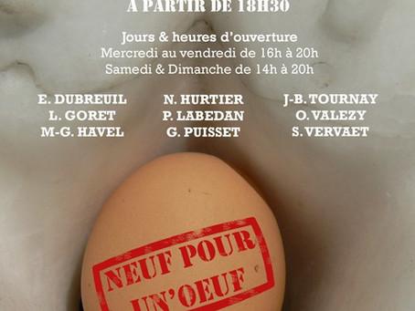 """Présentation de l'exposition """"Neuf pour un n'œuf"""""""