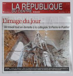 LA REPUBLIQUE, octobre 2016