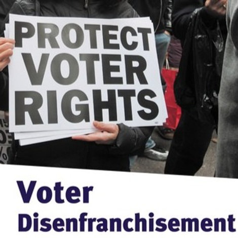 Voter Disenfranchisement
