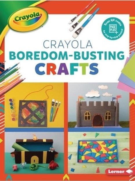 Crayola Boredom-busting crafts