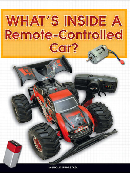 What's Inside a Remote-Controlled Car?