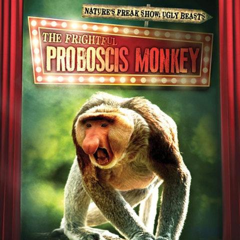 The frightful proboscis monkey
