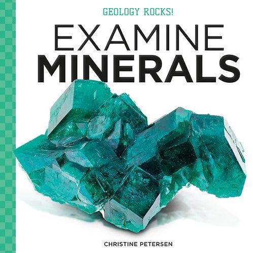 Examine Minerals