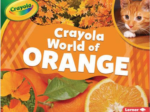 Crayola world of orange