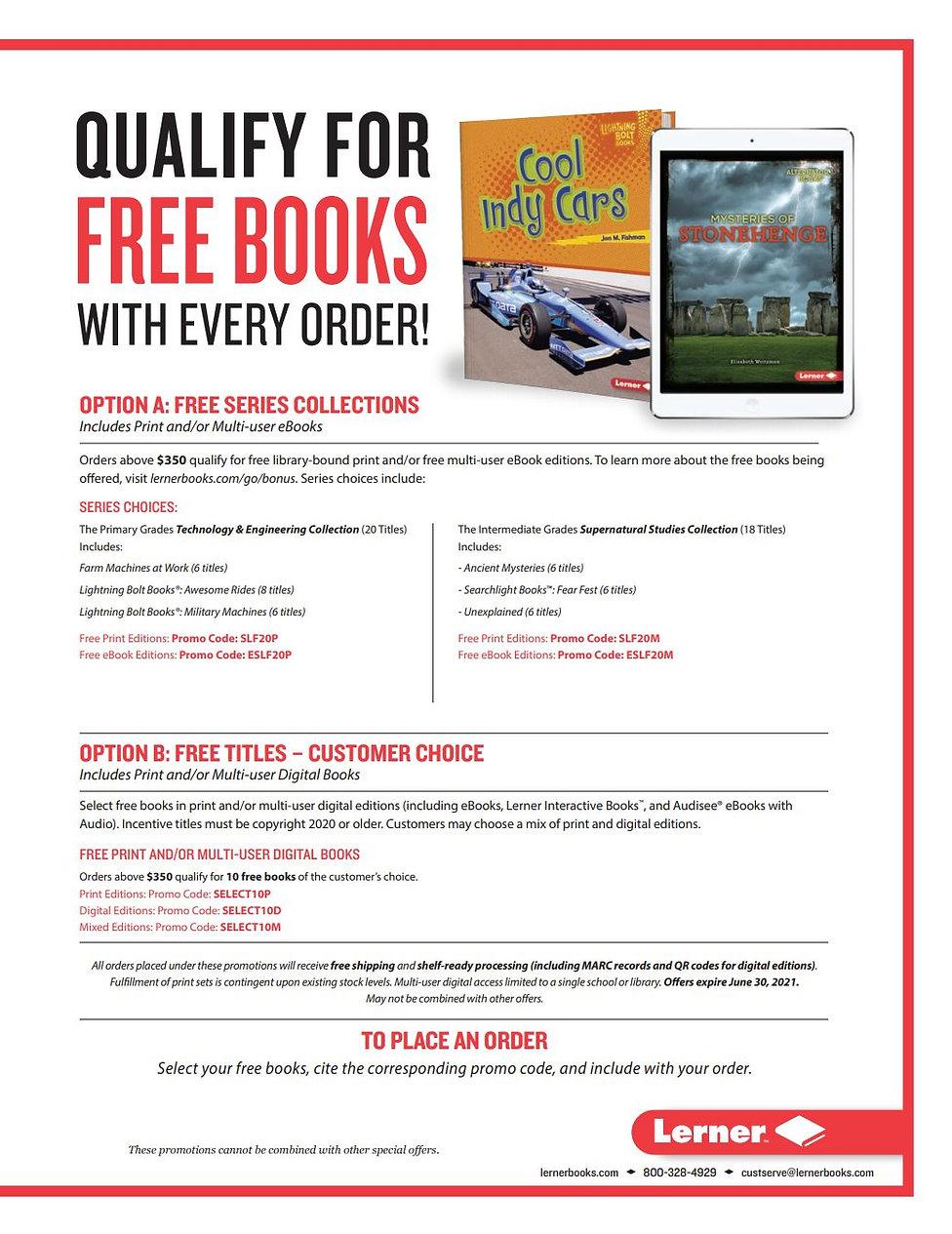 Lerner Free Books Spring 2021.JPG