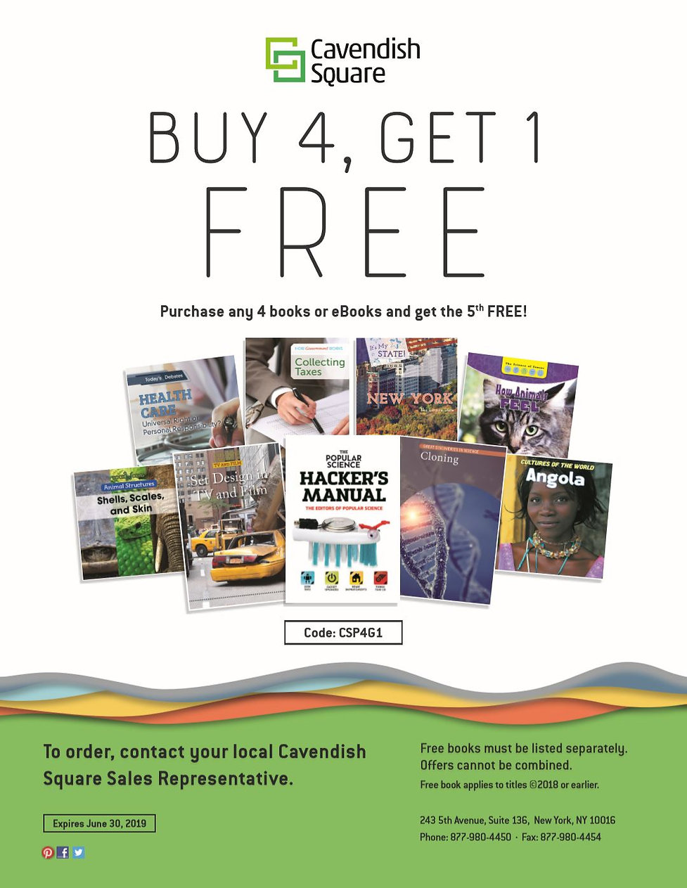 Cavendish Square Buy 4 Get 1 Spring 2019