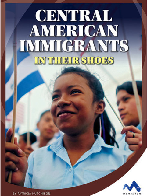 Central American immigrants in their shoes