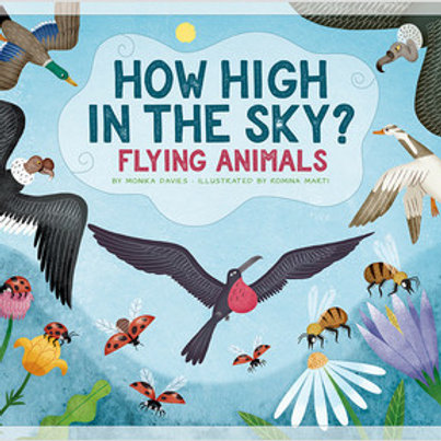 How high in the sky? Flying animals