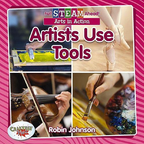 Artists use tools