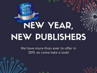 New Year, New Publishers!