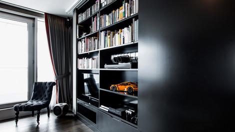 Modernes Single-Apartment