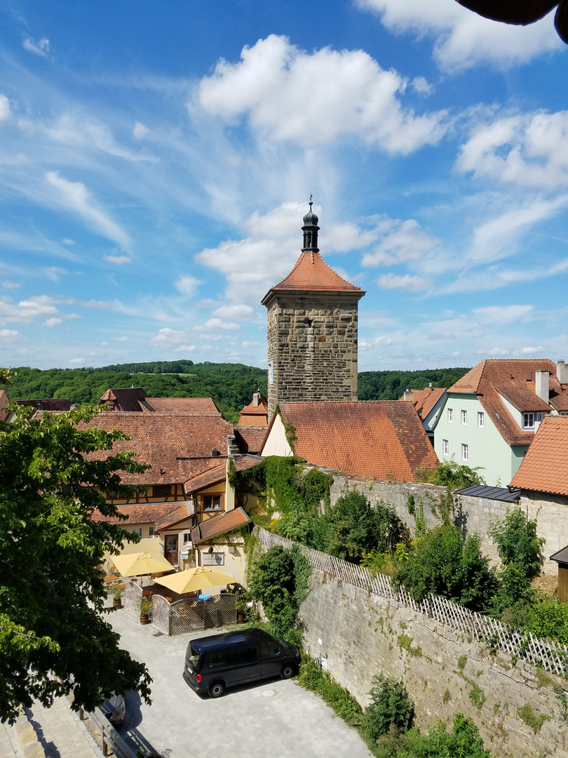 Rothenburg rooftops