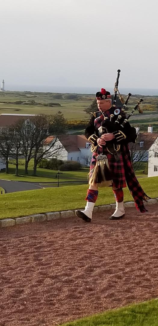 Piper in Scotland