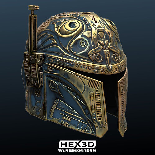 The Mandalorian (Future) - Helmet