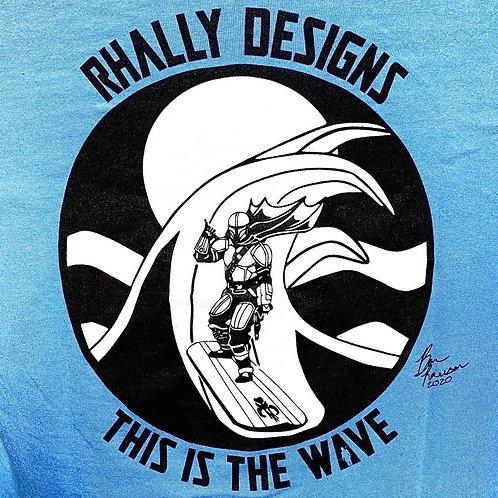 T-Shirt - Ocean Blue