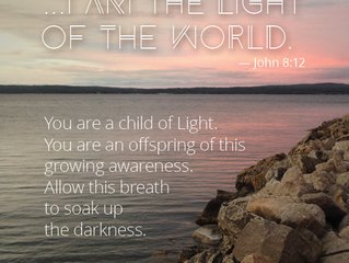 A Life of Practice: I Am the Light of the World