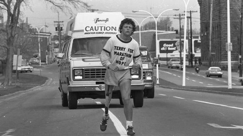 Terry Fox ran 5,373 kilometres before en