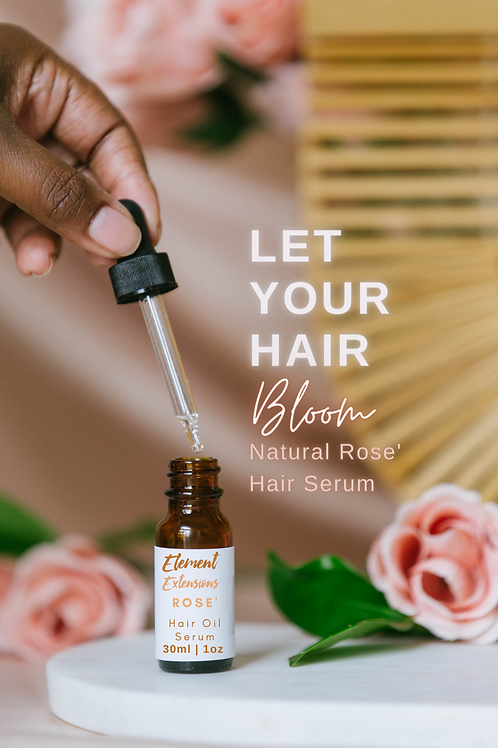 Rose Hair Oil Growth Serum