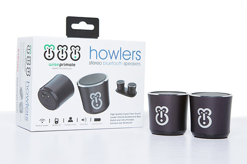 Howler Stereo Bluetooth Speakers