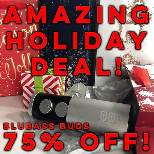 BluBass Buds - Bluetooth Earbuds