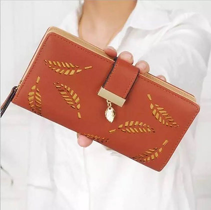 Leather Purse Wallet