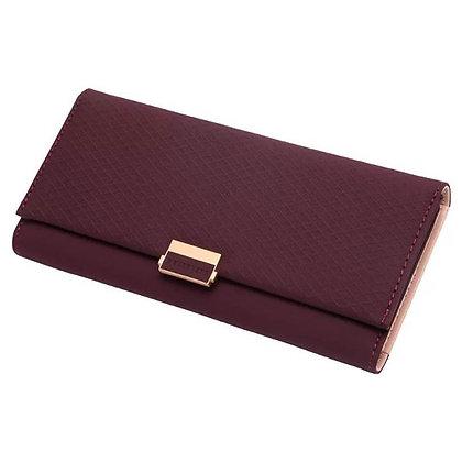 Long Zipper Fold Purse Wallet