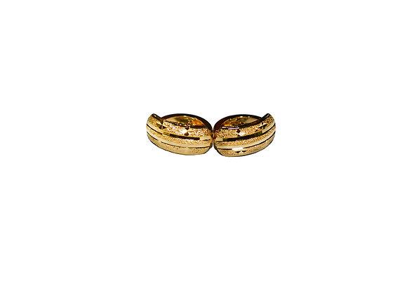 Fashion Gold Plated Huggies Earrings