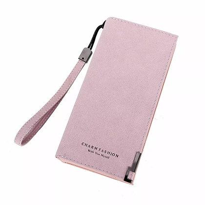 Long Zipper Wristlet Wallet