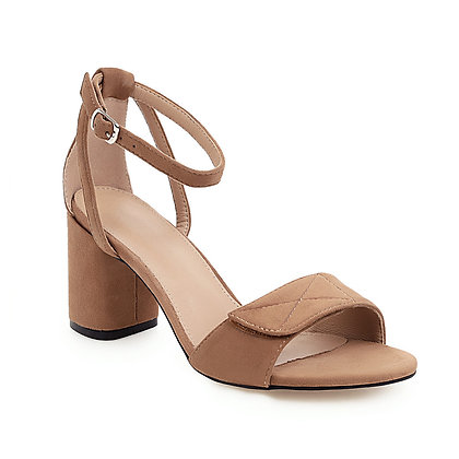 Chic Open Toe  Buckle Ankle Strap Sandals