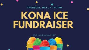 Kona Ice Fundraiser