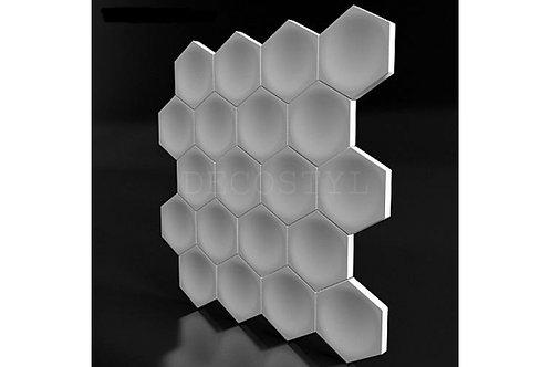 3D декоративные стеновые гипсовые панели - Соты